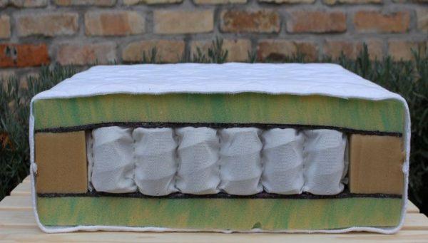 antibakteriális hideghab táskarugós gyerekmatrac - Rosszcsont Extra matrac 80x180 90x200