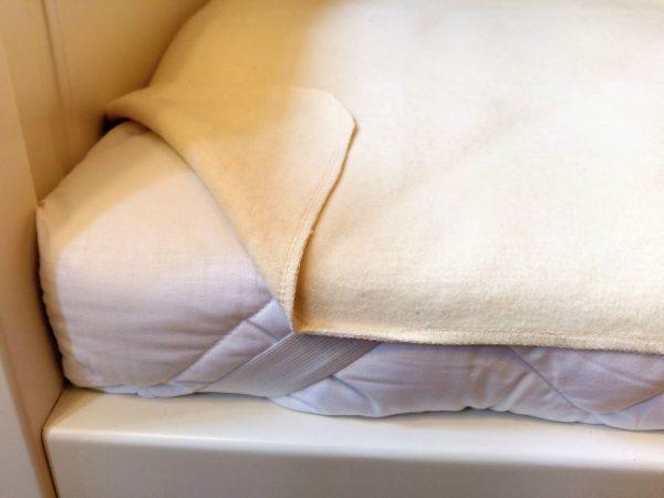 antibakteriális matracvédő, kalmük molton pamut 80x160 80x180 90x200