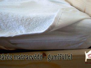 vízzárós alap matracvédő 80x160 80x180 90x200